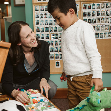 Dr.CORINNE with Child